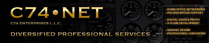Diversified Professional Services. Home/Office Networking. Professional Macintosh Support. Digital Video, digital videography, & digital photography. DVD authoring & production. Graphic Design. Professional Consulting